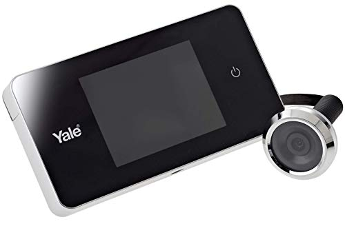 Yale 45-0500-1432-00-60-1 Digital Door Viewer, Weatherproof, 110 Angle, LCD Screen, Live View, Black