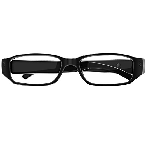 Spy Camera Glasses with Video Digital Camcorder Support Up to 32GB TF Card Fashion 1080P Hidden Camera Glasses Portable Video Recorder