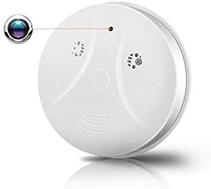 FiveSky WiFi Hidden Spy Camera HD 1080P Smoke Detector Camera Security Nanny Cam Wireless Mini Video Recorder with Motion Detector/Night Vision, Support iOS, Android