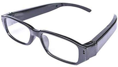 hotsell999 Spy Camera Glasses Hidden Full HD 1080P 16G Eyeglasses Camcorder with Video Taking of Spectacles Inspection for Halloween 16GB Micro SD Card Included