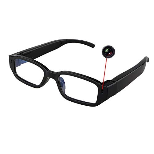 Hidden Camera Eyeglasses HD 1080P Portable Spy Camera Support Up to 32G TF Card Fashion Action Video Recorder
