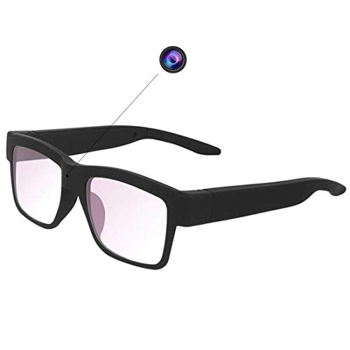 Camera Glasses 1080P Outdoor Mini HD Video Glasses Portable Wearable Eye Glasses with Camera for Outdoor Sports Driving,Riding,Fishing,Motorcycle