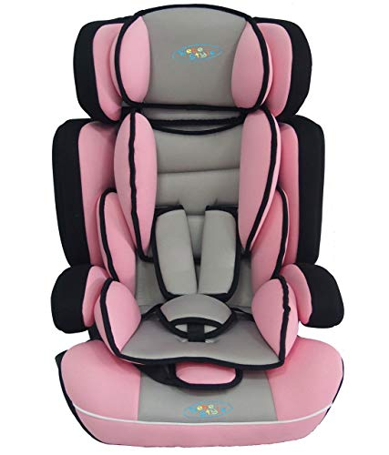 Bebe Style Convertiblle 1/2/3 Combination Car Seat and Booster Seat - Pink BCS222PINK