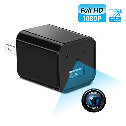 Mini Hidden spy Camera,Full HD 1080P Hidden spy Camera Charger with Video Record and Motion Detection for Home,Office Use | No Wi-Fi Needed