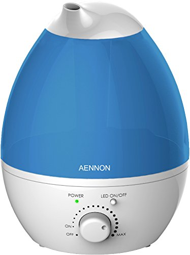 Ultrasonic Cool Mist Humidifier, 2.8L Air Humidifiers For Bedroom Baby Home Children Room Office