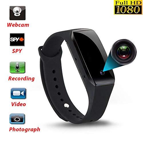Mini Spy Camera, 1080P Wireless Spy Watch Home Security Surveillance Camera