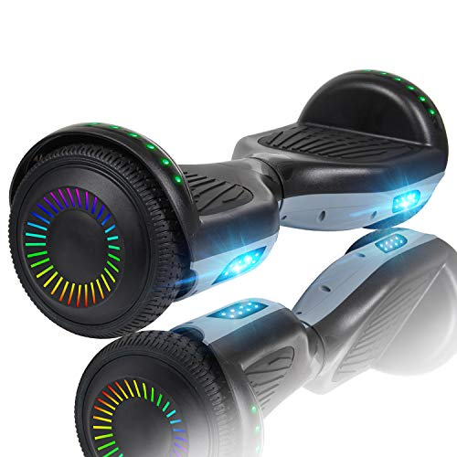 Huanhui Hoverboard, 6.5 inch Self Balancing Electric Scooter with Safe Standard Certified, Hoverboards for Kids and Adult, Great Gifts
