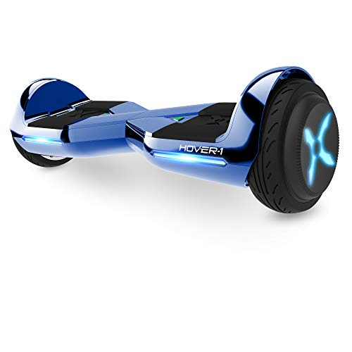 Hover-1 Dream Hoverboard Electric Scooter Light Up LED Wheels, Blue Dream , 25 x 9 x 9