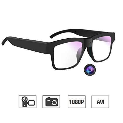 Camera Glasses 1080P Miota Mini Video Glasses Wearable Camera for Office/Outdoor/Training/Teaching/Kids/Pets