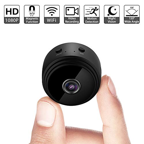 Mini Spy Camera, Phoclm Wifi Hidden Camera with Night Vision, Motion Detection, 1080P HD Wireless Home Security Surveillance Cameras