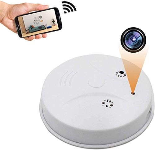 Hidden Spy Camera, WiFi 1080P Smoke Detector Hidden Camera Wireless Home Security with Night Vision