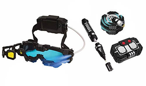 SpyX / Night Ranger Set - Includes Night Mission Goggles / Motion Alarm / Voice Disguiser / Invisible Ink Pen.