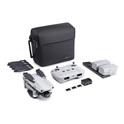 DJI Mavic Air 2 Fly More Combo - Drone Quadcopter UAV with 48MP Camera 4K Video 8K Hyperlapse 1/2' CMOS Sensor 3-Axis Gimbal 34min Flight Time ActiveTrack 3.0 Ocusync 2.0, Gray