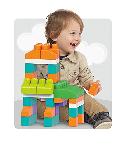Mega Bloks Big building Bag - 80 pieces