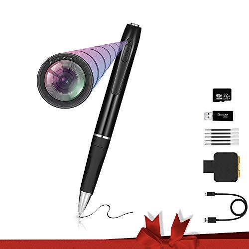 Scypherx HD 1080P Spy Pen Camera, Spy Camera Pen, Mini Recorder Pen with Video & Photo, Spy Recorder,Hidden Camera Pen, Mini Spy Camera, Spy Cam with 32GB SD Card, Spy Cameras with Video Recorder
