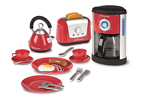 Casdon 647 Morphy Richards Kitchen Set, Red, 30 x 26 x 19 cm