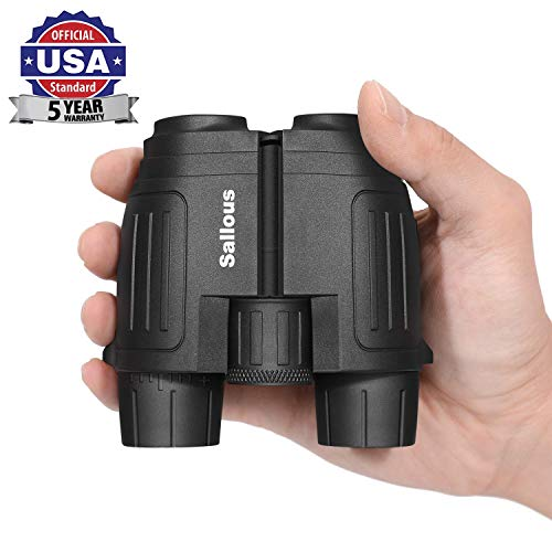 10X25 Small Compact Lightweight Binoculars for Adults Kids Bird Watching Traveling Hiking Wildlife Watching. Clear View, Easy to Focus. Pocket Folding Binoculars for Opera Concert Theater Opera.