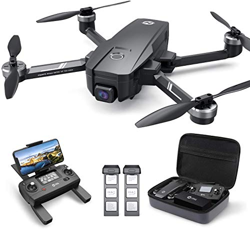 Holy Stone HS720E 4K EIS Drone with UHD Camera for Adults, Easy GPS Quadcopter for Beginner with 46mins Flight Time, Brushless Motor, 5GHz FPV Transmission, Auto Return Home, Follow Me &Anti-shake Cam