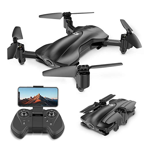 Holy Stone HS165 GPS Drone with Camera for Adults 1080P HD Live Video, Foldable Drone for Beginners, FPV RC Quadcopter with GPS Return Home, Follow Me, Altitude Hold and 5G WiFi Transmission
