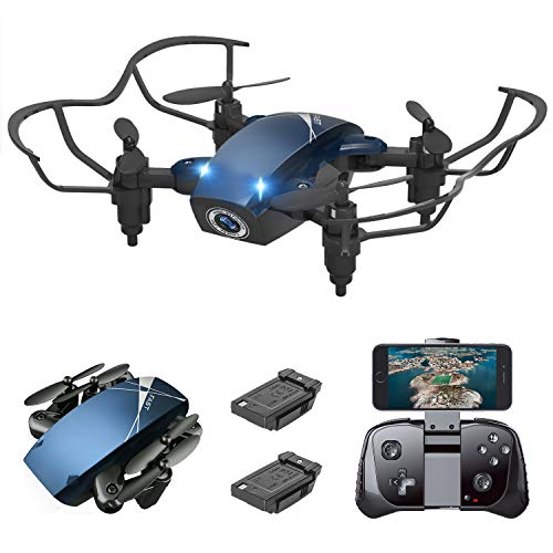 Supkiir 14 S9M Mini, Portable Drone with 720P HD Camera, Pocket RC Quadcopter for Beginners, Kids, Adult
