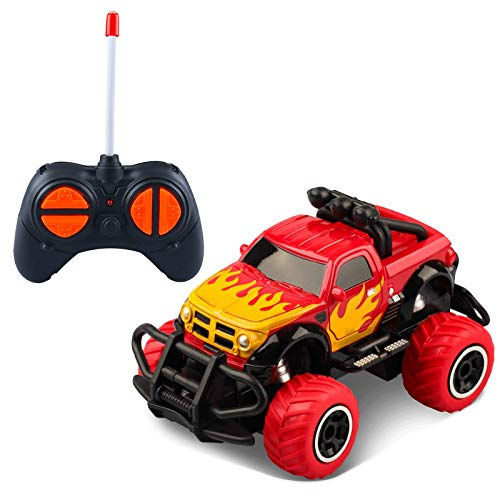LOFEE Car Toy for 3-8 Years Old Boys, 2.4G Remote Control Car Toy for Kids Birthday Gift for 3-5 Years Old Boys RC Turck for 3-9 Years Old Present for 5 Years old Girl