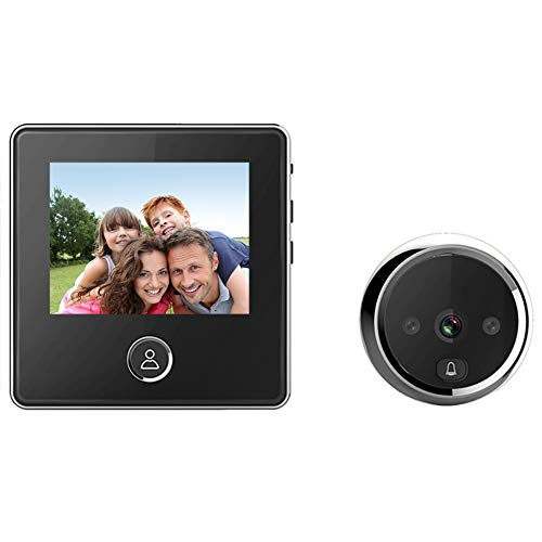 digitharbor 3' LCD Screen Digital Door Camera Electronic Door Viewer Bell IR Night vison Door Peephole Camera Photo Recording 120 Degrees Wide View Angle