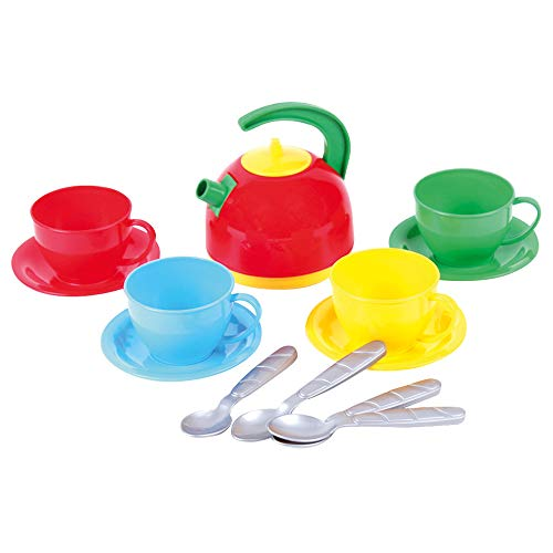 Bino 83208 Kids Tea Set, Colourful