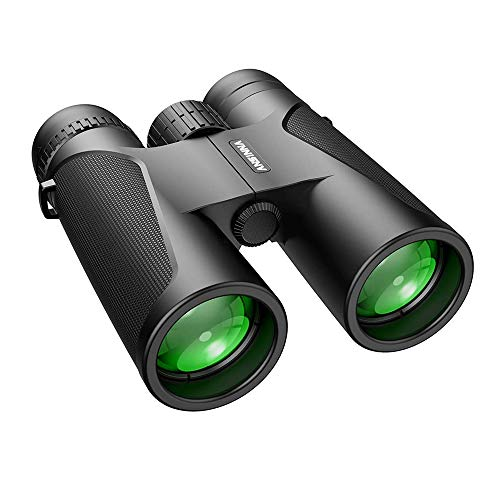 Binoculars, 12x42 Binoculars for Adults HD Compact Binoculars for Adults Bird Watching Kids Binoculars Waterproof 114m Field Of Vision and 1000m Distance with FMC & BAK4 Lens