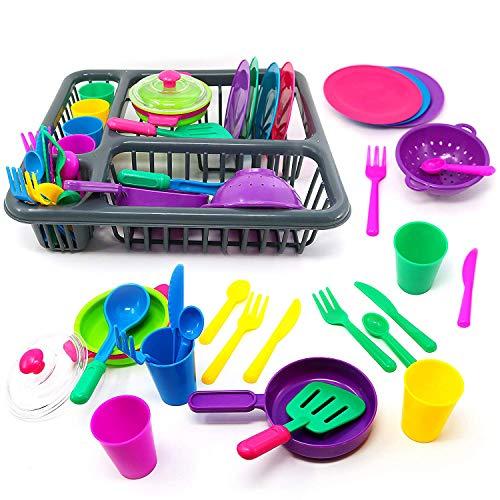 URBN Toys 25pc Kids Kitchen Dish Playset