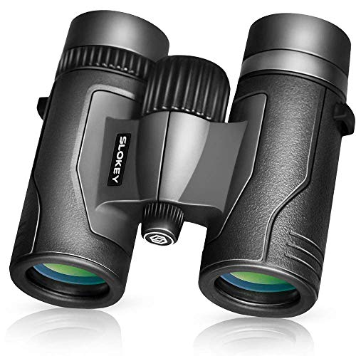 8x32 Compact Binoculars for Adults – Best Bird Watching Binoculars 2020 – Lightweight and Sharp Optics for Hours of Bright, Clear Bird Watching – Extra Wide Field of View
