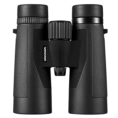 Wingspan Optics Voyager 10X42 High Powered Binoculars for Bird Watching. Bright and Clear Views - Waterproof and Fog Proof - for Bird Watching, Hiking and Exploring. Formerly Polaris Optics.