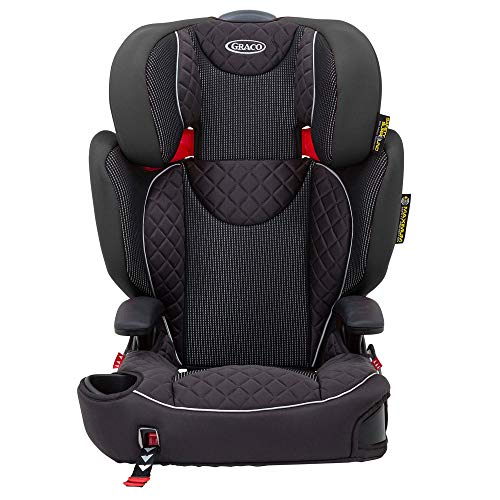 Graco Affix High back Booster Car Seat with ISOCATCH Connectors, Group 2/3 (4 to 12 Years Approx, 15-36 kg), Stargazer