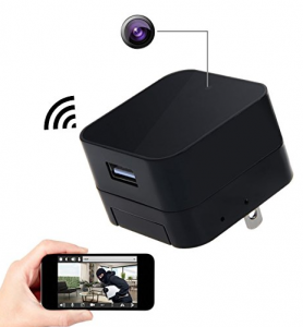 Charger Adapter Mini Hidden Camera