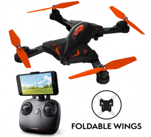 foldable drone camera
