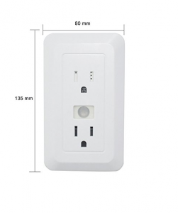 Electrical Outlet Hidden Camera