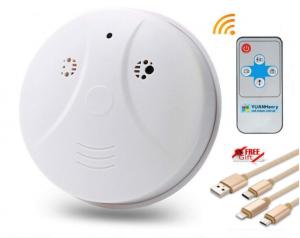 smoke detector spy cam