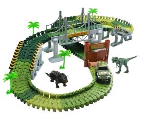 Dinosaur track for kids