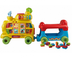 alphabet train for child