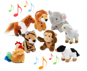 animal toys set for kids