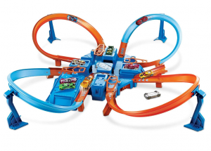 hot wheel car racing track for boys