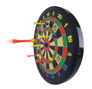 magnetic dart board for child