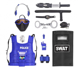 police man kit for 6 year old boys