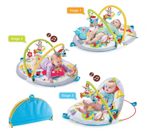Sit-Up Play Mat for child