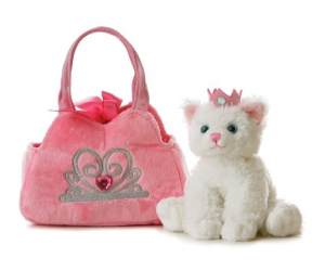 kitten and purse for girls