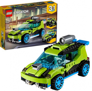 lego 3 in 1 car set for child