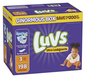 luvs diapers for kids