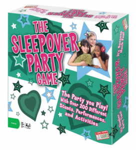 sleepover party game for girls