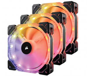 RGB LED PWM Three Fans