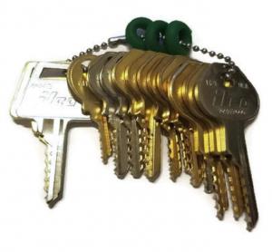 15 Keys Depth Key Set with Bump Rings