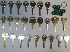 25 Key Depth Key Set with Bump Rings